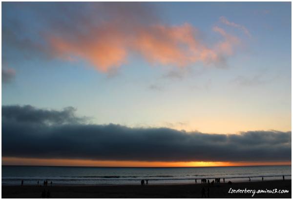 Sunset at Stinson Beach