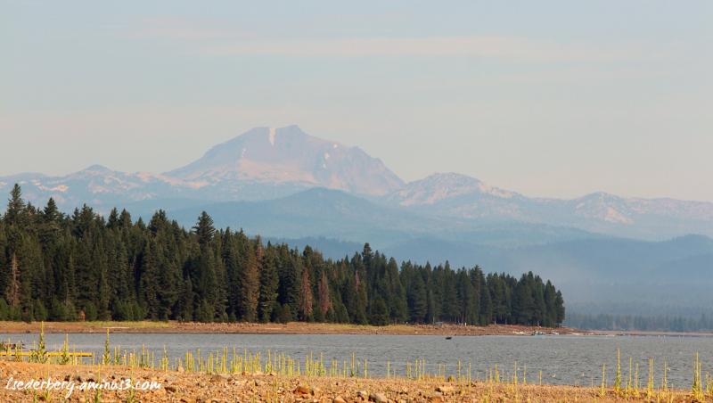 Summer haze Mt. Lassen