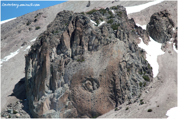 Peak of Mt. Lassen 3