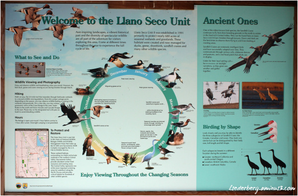 Llano Seco sign