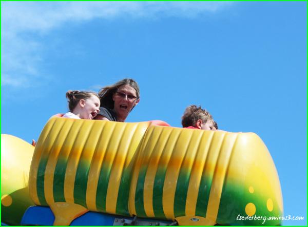 Caterpillar Ride at the Fair