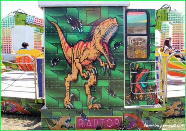 Raptor Ride at the Fair