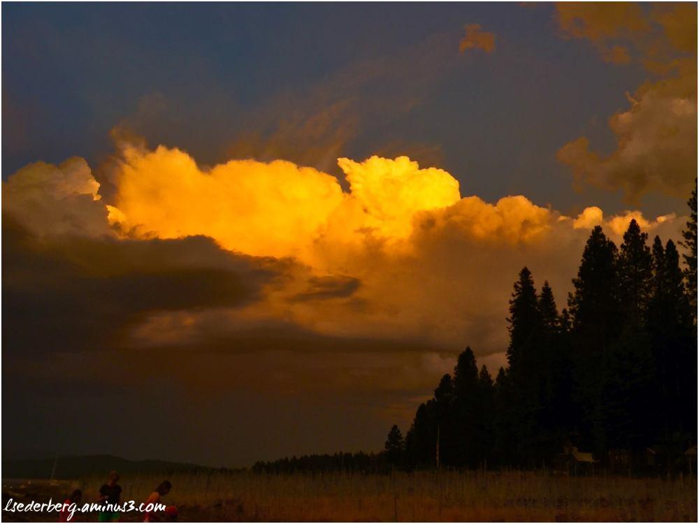 Sky over Lake 2