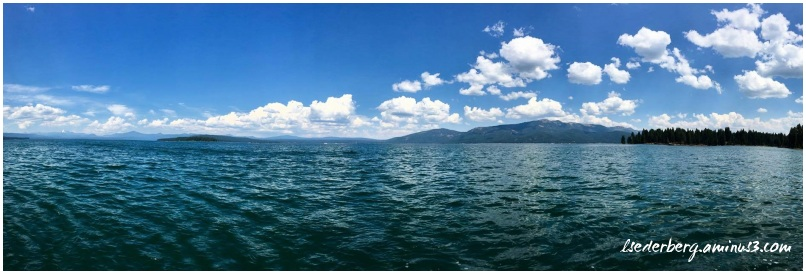 Lake Almanor panorama