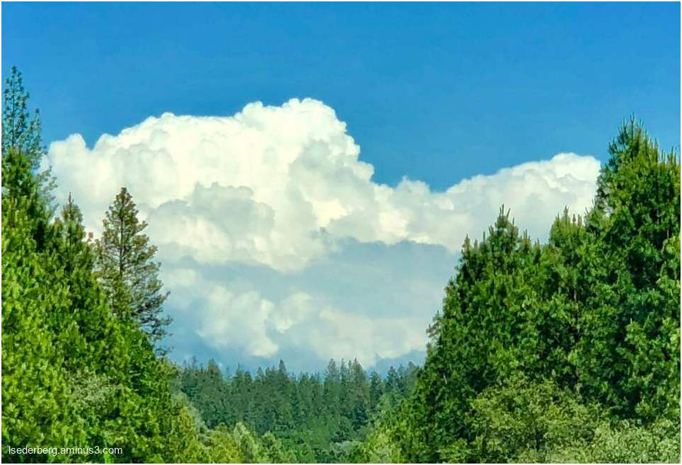 Nevada City clouds