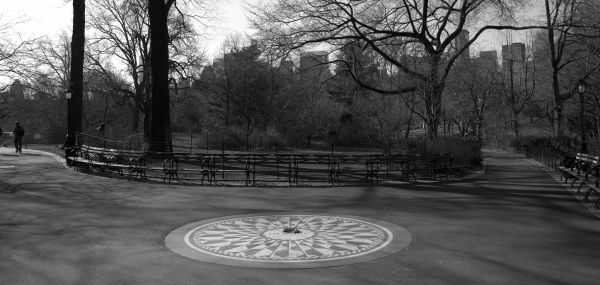 Strawberry Fields in Central Park NYC