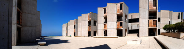 Salk Courtyard Pano