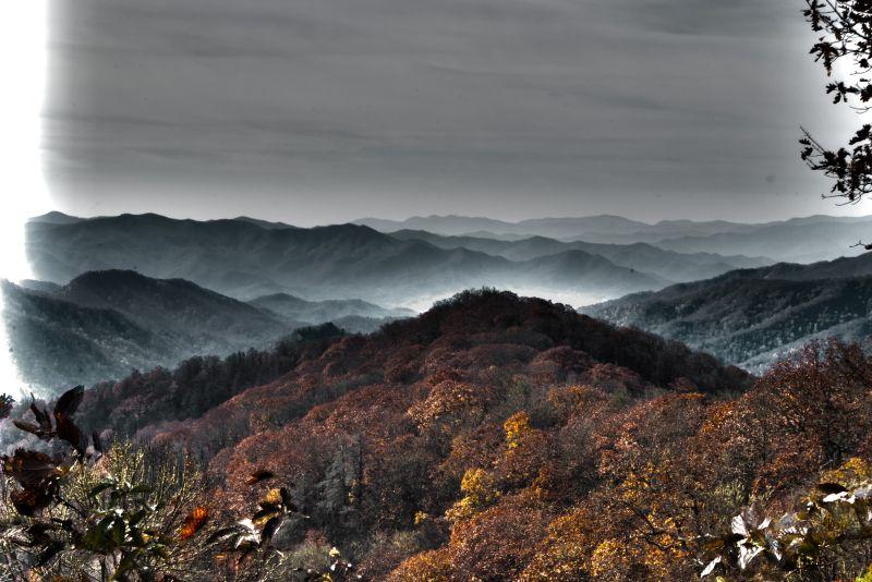 Great Smokey Mountains National Park landscape, HD