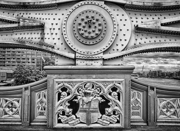 Tower Bridge Detail B/W2
