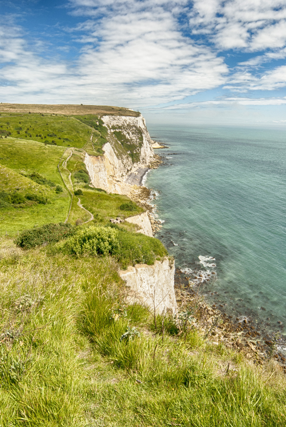 The cliffs of Dover