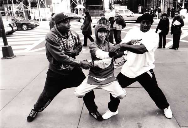 Breakdancers in NYC