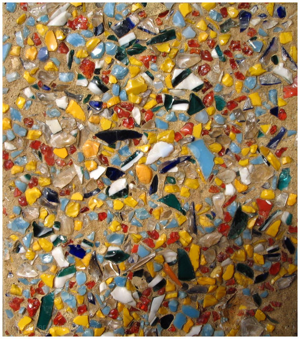 Recycled Abstract from 1930s