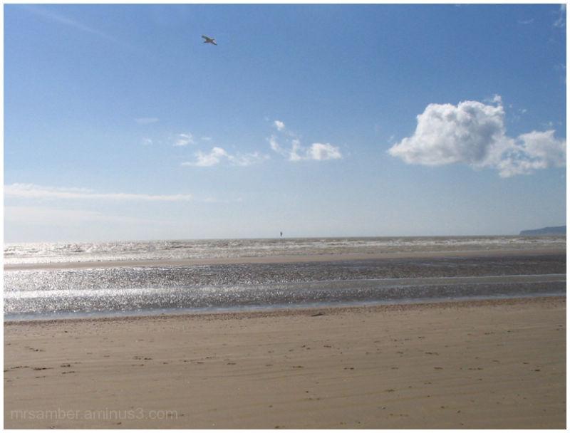 Beach at Camber Sands, Kent