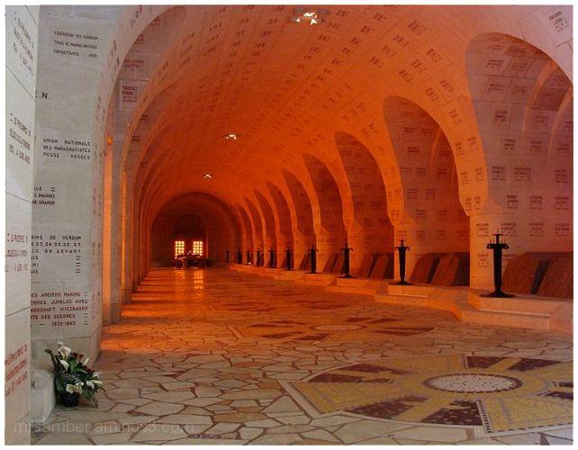 Inside Douaumont Ossuary