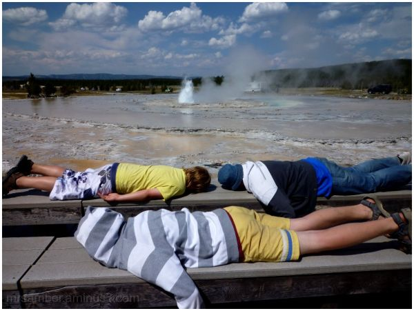 Silly Tuesday - Face Down at the Geysers