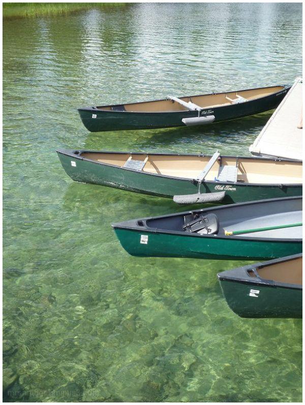 Boats on Jenny Lake