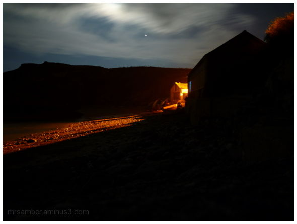 Lulworth Cove at Night