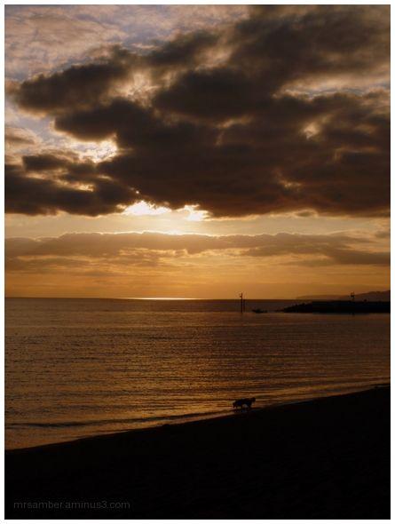 Sunset, Bembridge Bay