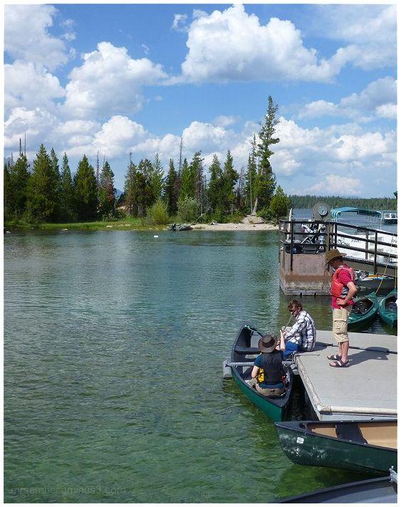 Boating on Jenny Lake