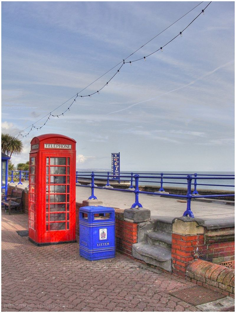 By the Pier at Eastbourne