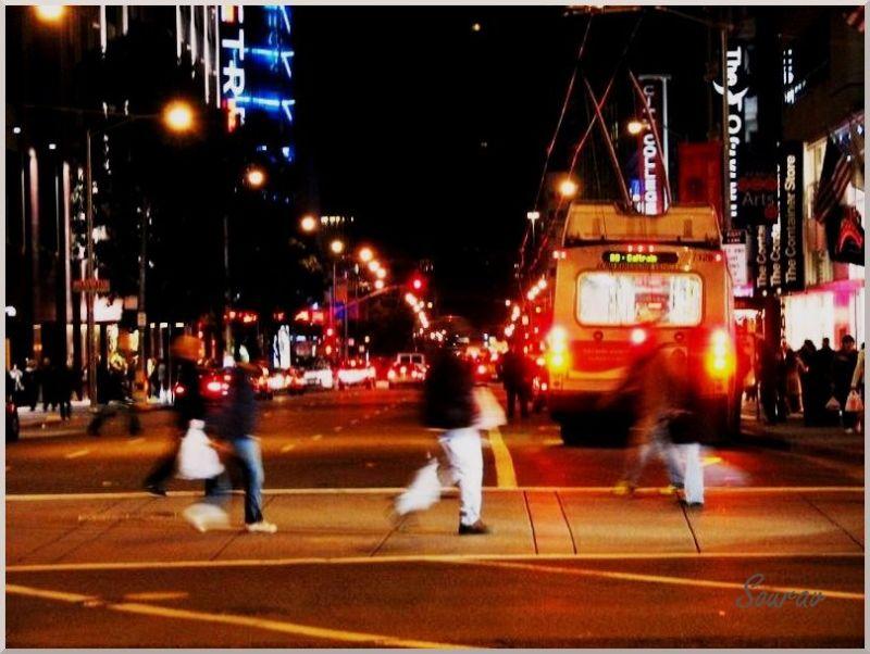 SFO Street at Night