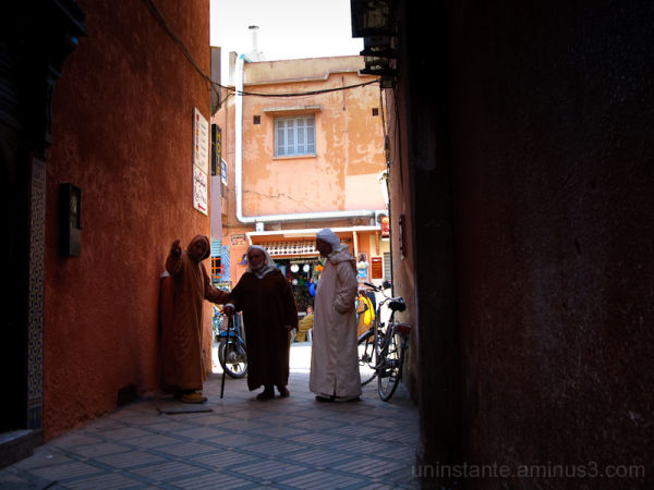 Marrakech, friends