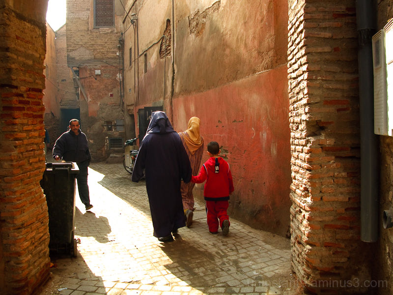 Marrakech, passages