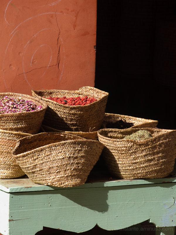 cestas, especias
