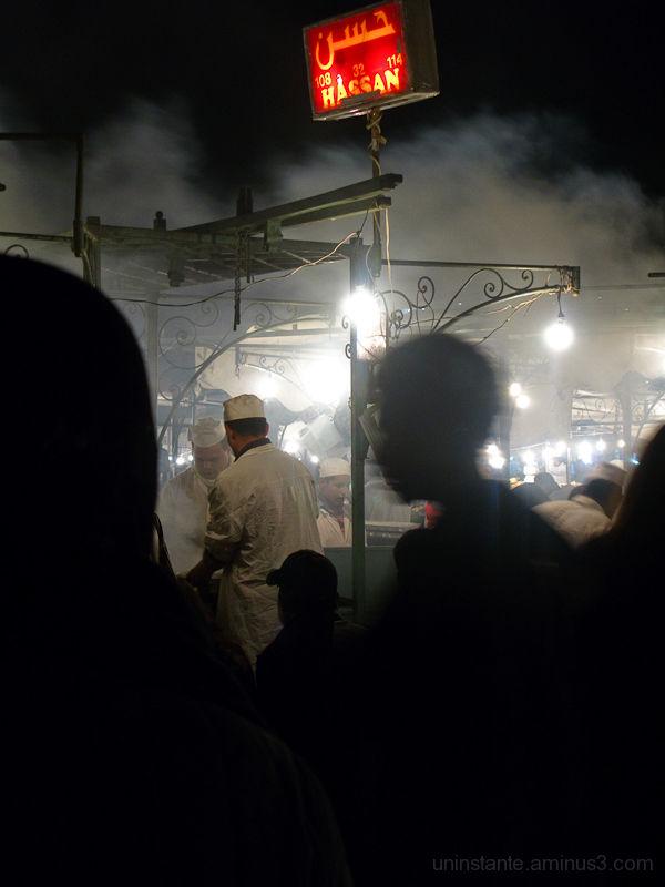 Puestos nocturnos marrakech