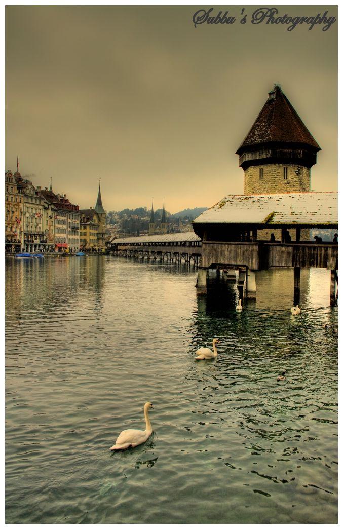 Luzern - Lake View - HDR