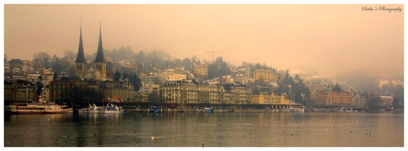 Luzern - Lake View 2- HDR