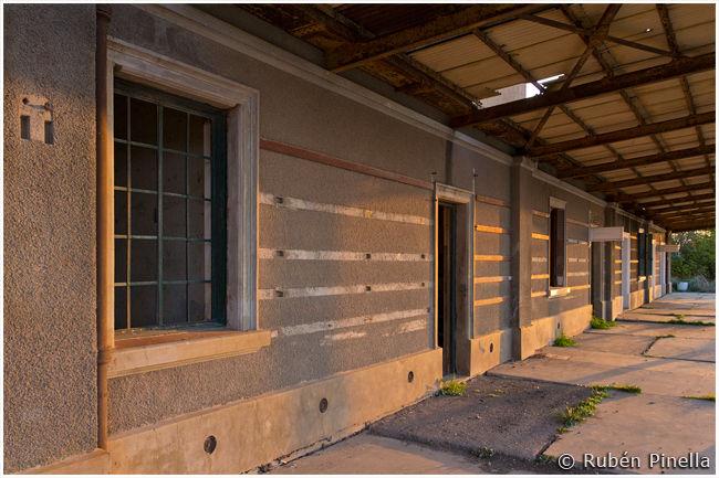 Estación ferroviaria abandonada de Lin Calel