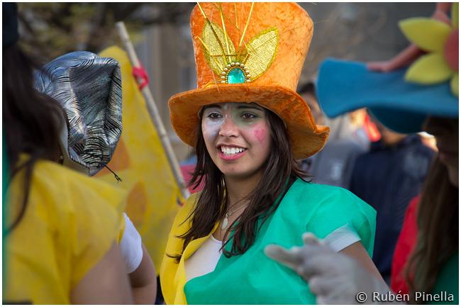 Fiesta estudiantil en De La Garma