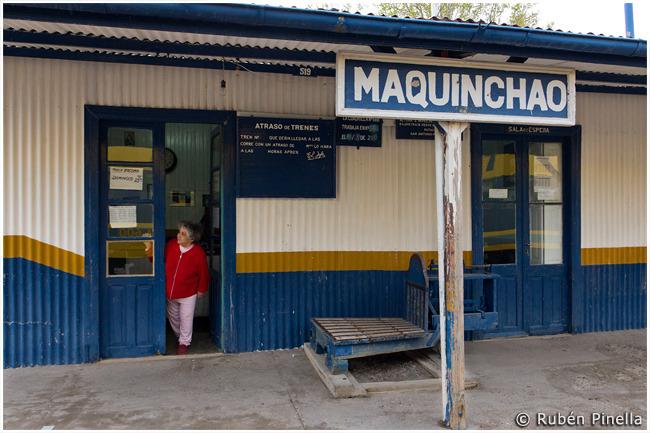 Estación ferroviaria de Maquinchao