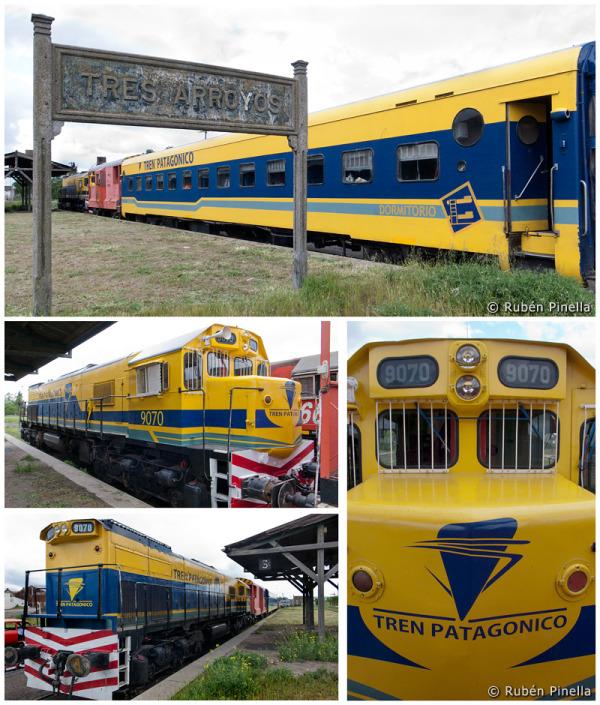 El Tren Patagónico de paso por Tres Arroyos