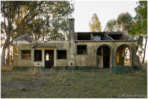 Escuela rural en ruinas