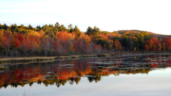 Lake near Jaffrey, New Hampshire
