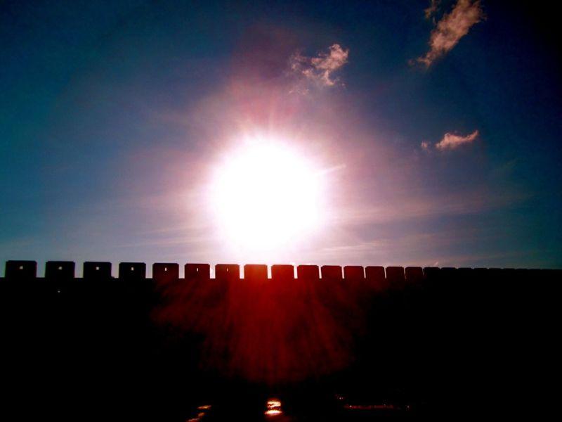 恒春の城壁跡