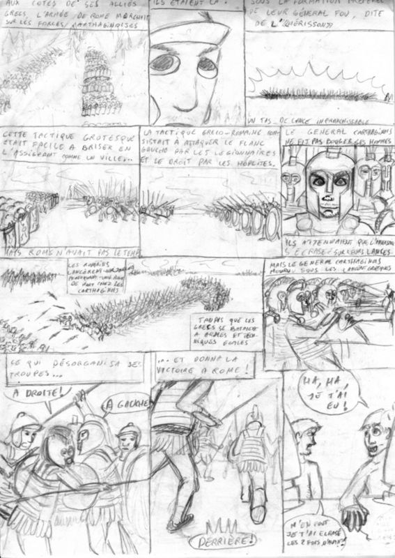 The drawn Blocus 7 (French)