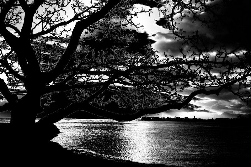 Ala Moana Beach Sunset, Oahu, Hawaii