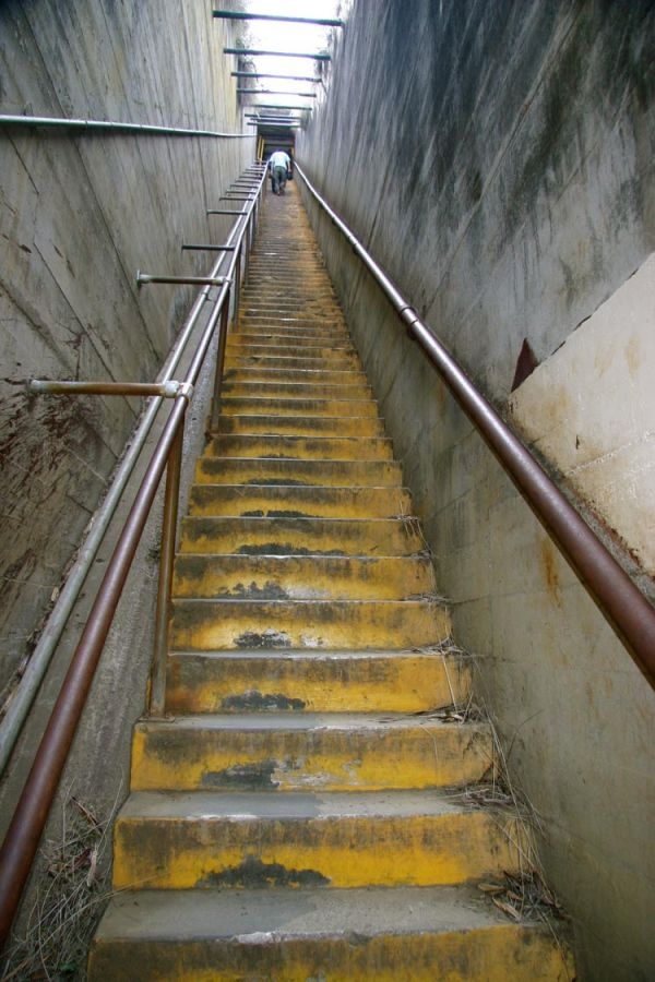 Stairs to Diamond Head