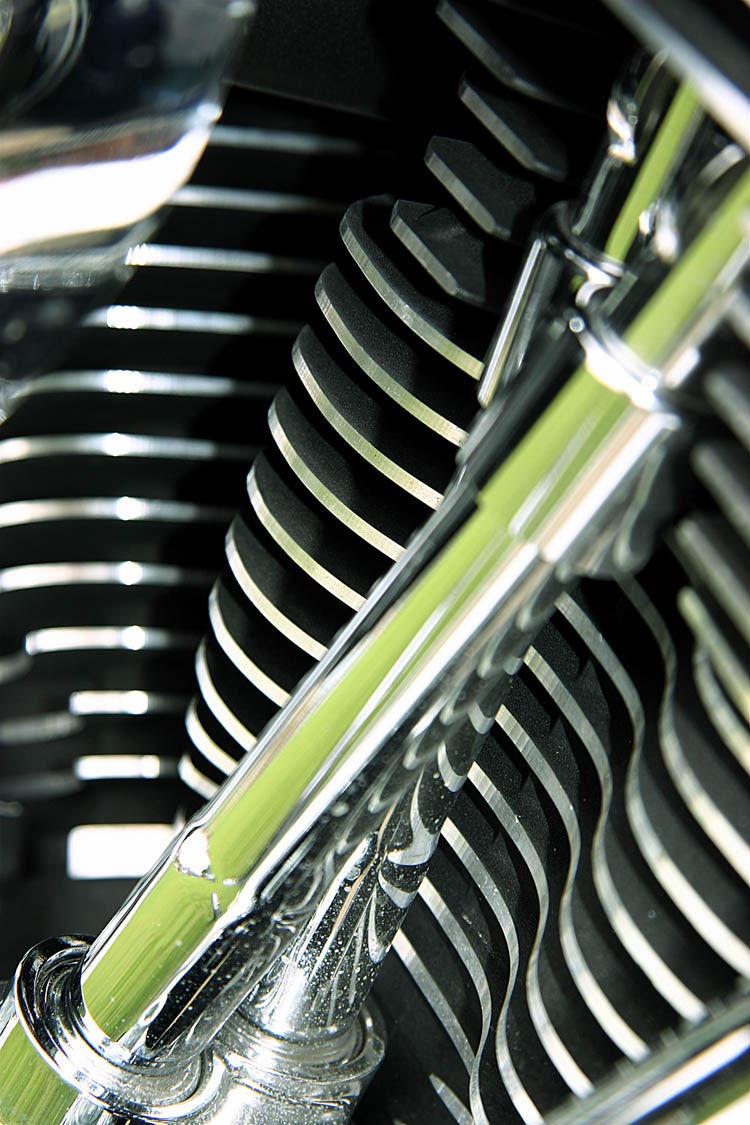 2007 Harley Soft tail engine