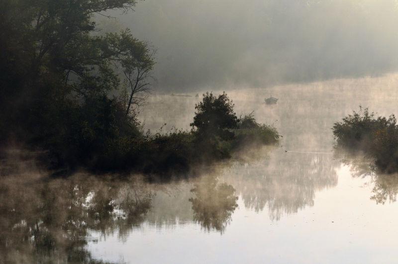 nature brumeuse de l'ain