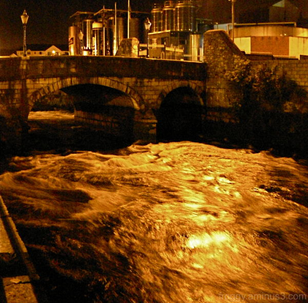 Cork by night