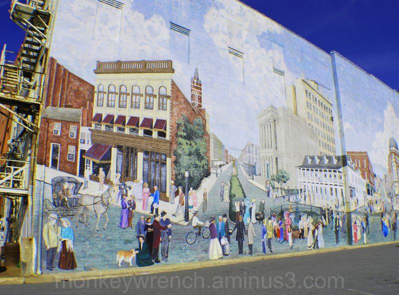 Historic Wall Mural