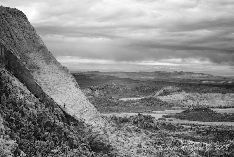 South Guardian Angel Mountain View, Zion National
