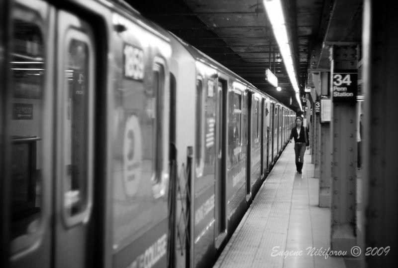 34th street subway, new york