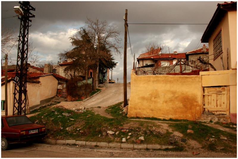 having a walk in Odunpazari