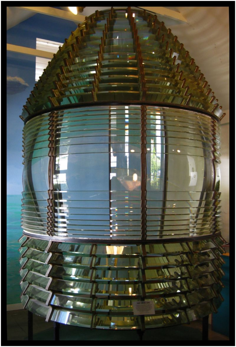 KeyWest Lighthouse Fresnel Lens