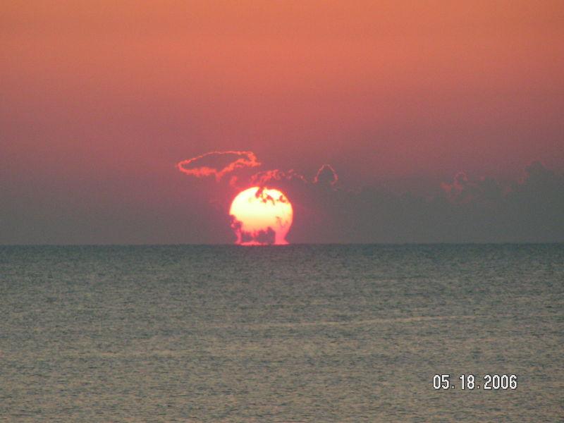 Sunrise at St. Augustine, Florida